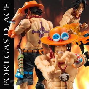 ワンピース フィギュア ヴァリアブルアクションヒーローズ ポートガス・D・エース ONE PIECE|ten-ten-store