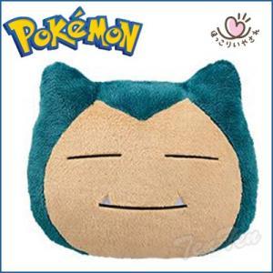 ポケットモンスター サン&ムーン ほっこりいやされ でっかいカビゴン フェイスクッション B 約38cm ポケモン Pokemon グッズ|ten-ten-store