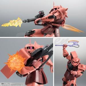 機動戦士ガンダム ROBOT魂 SIDE MS MS-06S シャア専用ザク ver. A.N.I.M.E. ロボット魂 バンダイ|ten-ten-store|02