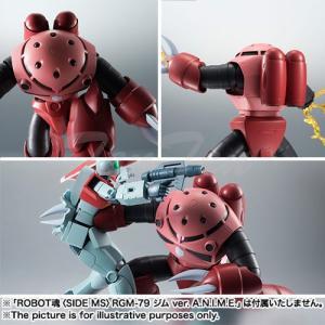 機動戦士ガンダム ROBOT魂 SIDE MS MSM-07S シャア専用ズゴック ver. A.N.I.M.E. ロボット魂 バンダイ|ten-ten-store|02