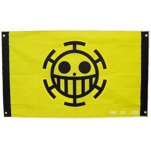 ワンピース グッズ ロー海賊旗 大きいサイズ トラファルガー・ロー ハート海賊団グッズ