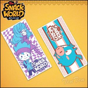 スナックワールド バスタオル 2 全2枚組セット 第2弾 スナックワールド グッズ SNACK WORLD 日常品雑貨 タオル|ten-ten-store