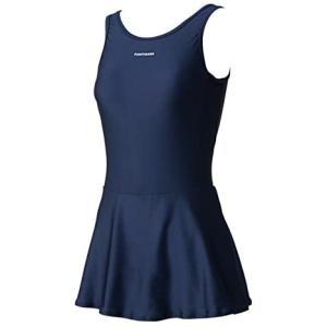フットマーク スカート付ワンピース 101560 (コン Small)|tenbin-do
