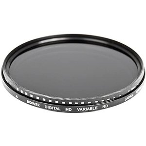 Bower 77mm Variable Neutral Density Filter NDフィルター ND値 28(透過率50% - 12.5%) tenbin-do