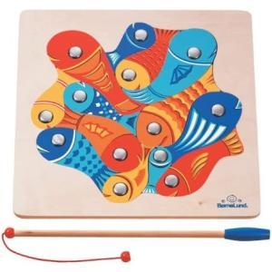 ボーネルンドオリジナル 魚つりパズル 対象年齢 4歳|tenbin-do