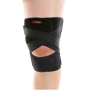 AIDER エイダー 膝サポーター 後十字靭帯 用 Knee Support TYPE5 フリーサイズ 左足 [並行輸入品] (ワンサイズ)|tenbin-do