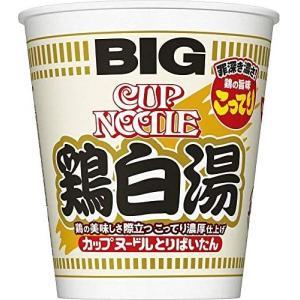 日清 カップヌードル 鶏白湯 ビッグ 105g ×12個|tenbin-do
