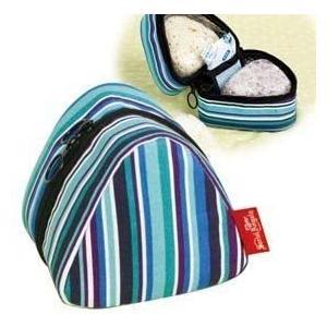 おにぎりケース おにぎりポーチ 保冷 保温 チョコっと便利なおにぎりバッグマリン tenbin-do