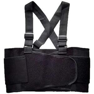 healucifer 胸サポーター肋骨 あばら コルセット 黒 (XL) (ブラック XL)|tenbin-do