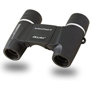 Ollplus+ フリーフォーカス オートフォーカス 双眼鏡 防水規格 IPX7 光学プリズム採用 マットブラック ピント合わせが不要なので tenbin-do