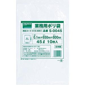 TRUSCO(トラスコ) 業務用ポリ袋0.1×150L 5枚入 S-0150 (容量:150L)|tenbin-do