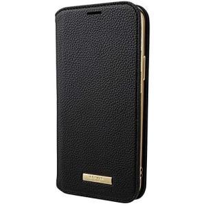 "GRAMAS COLORS iPhone 12 / iPhone12 Pro 用 ケース 6.1"" インチ""Shrink"" PU (Black) tenbin-do"