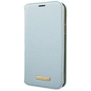 "GRAMAS COLORS iPhone 12 / iPhone12 Pro 用 ケース 6.1"" インチ""Shrink"" (Light Blue) tenbin-do"