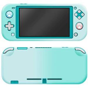 <最新型Nintendo switch lite専用カバー>ニンテンドー スイッチ ライト カバー switch lite対応 (ブルー/グリーン) tenbin-do