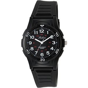 <シチズン Q&Q> 腕時計 アナログ 防水 ウレタンベルト VS08-001 メンズ ブラック (ブラック)|tenbin-do