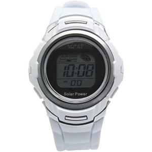 <アリアス> 腕時計 デジタル ソーラー メンズ ホワイト AD06717SOL7 (ホワイト)|tenbin-do