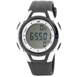 <アリアス> 腕時計 デジタル メンズ 歩数計 付き ブラック ADWW18110PM-01 (ブラック)|tenbin-do