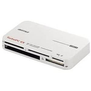 バッファロー USB3.0マルチカードリーダー TurboPC EX付き ホワイト BSCRY22TU3WH tenbin-do