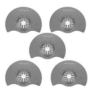 ブレードカットソー カットソー・マルチツール用ブレード 88mm 5枚組 マルチツール用替刃セット 高炭素鋼|tenbin-do