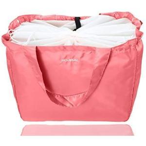 レジカゴ エコバッグ 大容量 保冷 保温 防水 (ピンク)|tenbin-do