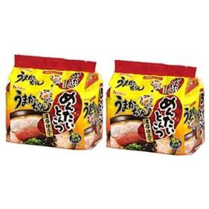 うまかっちゃん めんたいとんこつ 濃厚仕立て 5食パック × 2セット ( 計 10食 ) tenbin-do