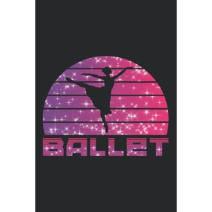 Ballet: Notebook / Paperback with Ballet motive -in A5 (6x9in) dotted dot tenbin-do