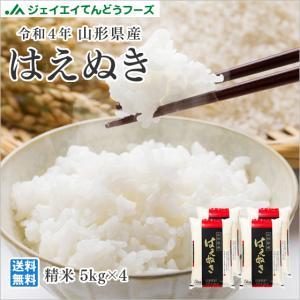 米 お米 20kg (5kg×4袋) はえぬき 山形県産 2...