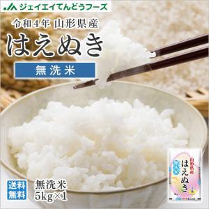 米 お米 5kg 無洗米 はえぬき 山形県産 29年産...