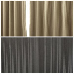 カーテン 遮光2級(3級) 2枚組 5255 豊かな光沢のあるストライプ柄 幅100×丈135〜210cm 2枚組 幅100センチ 受注生産A|tengoku|04