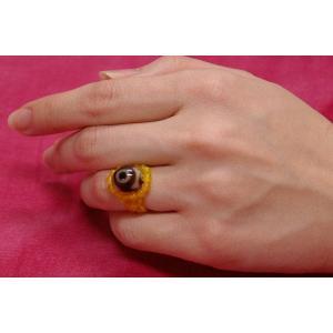 三眼天珠指輪 tenjyu