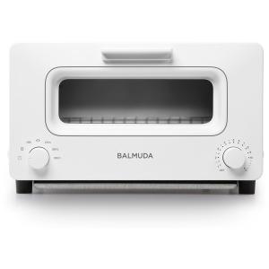 K01E-WS バルミューダ ホワイト The Toaster オーブントースター(1300W) ス...