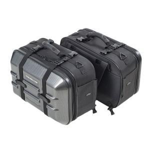 MFK-250 タナックス ツアーシェルケース2 サイドバッグ モトフィズ カーボン柄 (容量40?...