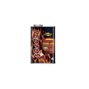 REDFOX レッドフォックス 全合成油 10W-40 1L缶x10本 バイク用 エンジンオイル レーシング&スポーツ SUNOCO スノコ