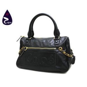 クロエ(Chloe) PVC:ブラック ハーレー ハンドバッグ 型番:3S0883 8A849|tenmaya78