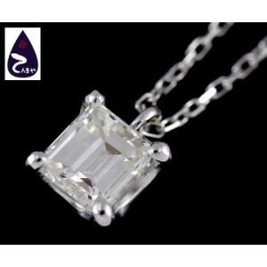 K18WG ダイヤネックレス ダイヤ:0.754ct 重量:2.3g|tenmaya78