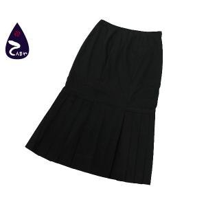 プラダ(PRADA) プリーツスカート(レディース) カラー:ブラック サイズ:40|tenmaya78