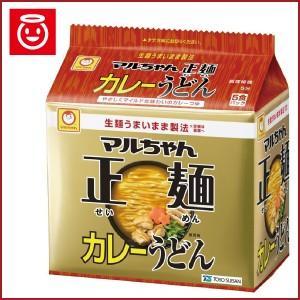 (特売品) マルちゃん 正麺 カレーうどん 5食パック×6袋