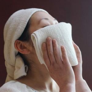 和紡布・健康ボディタオル <オーガニックコットン100%の平織りタオル> tennen-sponge 02