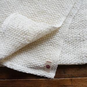 和紡布・健康ボディタオル <オーガニックコットン100%の平織りタオル> tennen-sponge 04
