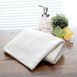 和紡布・オーガニックコットン100%のバスタオル|tennen-sponge