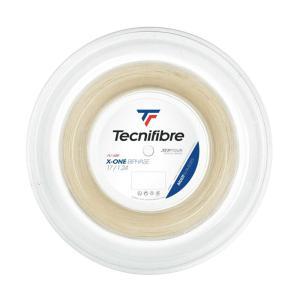 テクニファイバー エックスワンバイフェイズ(1.24mm/1.30mm) 硬式テニス マルチフィラメ...