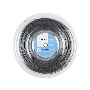 ルキシロン ビッグバンガー アルパワー ラフ (1.25mm) 220Mロール 硬式テニス ポリエス...