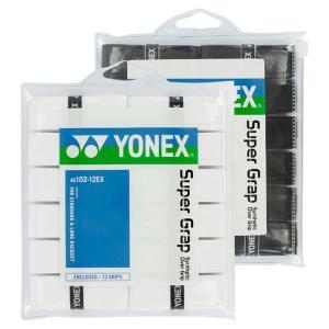 ヨネックス ウェットスーパーグリップテープ 12本入り Yonex Super Grap 12 Pa...