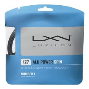 ルキシロン(LUXILON)ストリング アルパワースピン (ALUPOWER SPIN) 127 W...
