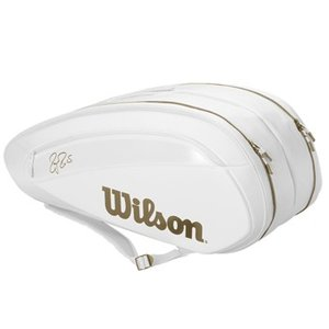 【発売開始!】Wilson(ウイルソン)FEDERER DNA 12 PACK White/Gold...