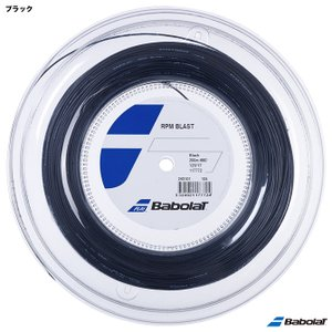 【10%ポイント対象商品:10月20日まで】バボラ BabolaT テニスガット ロール RPMブラスト(RPM BLAST) 125 ブラック 243101(125)|tennis-station