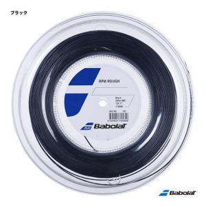 【10%ポイント対象商品:10月20日まで】バボラ BabolaT テニスガット ロール RPMラフ(RPM ROUGH) 125 ブラック 243140(125b)「旧商品名:RPMブラストラフ」|tennis-station