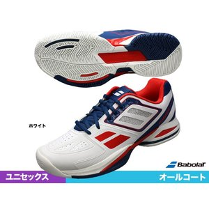 バボラ(BabolaT) テニスシューズ プロパルス チーム BPM オールコート WH BAS1500