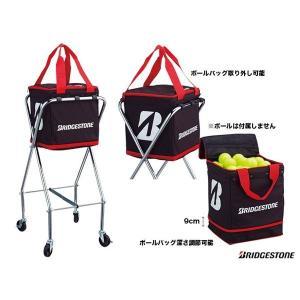 ブリヂストン(BRIDGESTONE) コート備品 キャスター付きボールバッグ TAB901|tennis-station