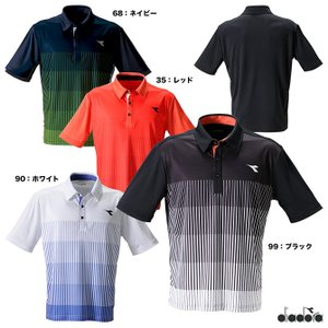 【10%ポイント対象商品:10月20日まで】ディアドラ DIADORA  テニスウェア ジュニア JR ゲームシャツ DTJ9332|tennis-station